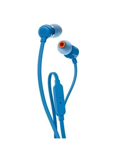 JBL T110 Mavi Kablolu Kulak İçi Kulaklık Mavi
